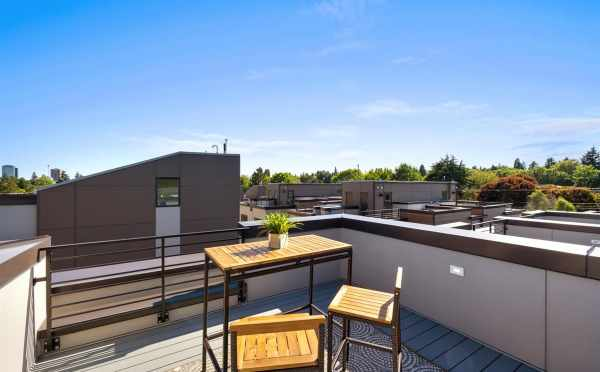 Roof Deck at 6317E 9th Ave NE in Zenith Towns North