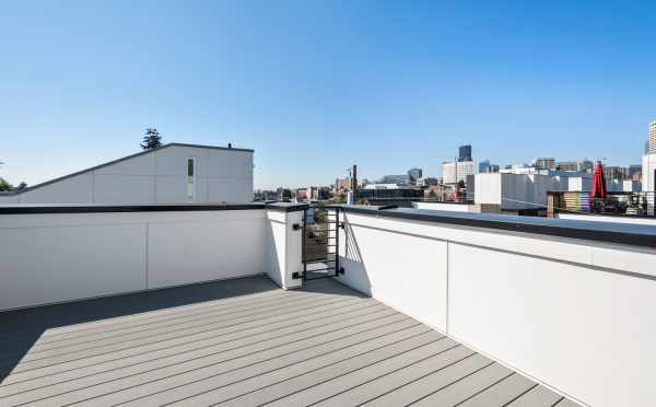 Rooftop Deck at 1113A 14th Ave
