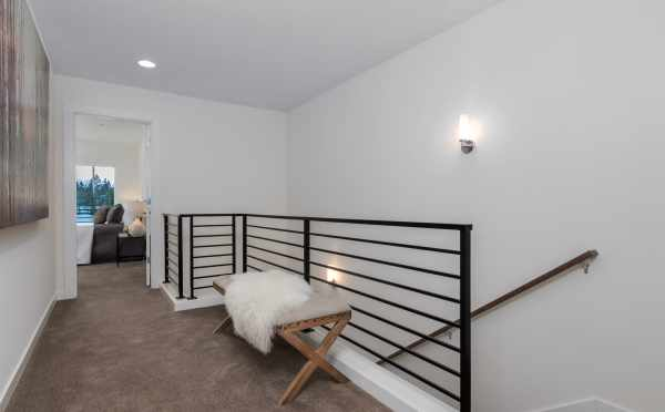Stairs to the Third Floor at 11514B NE 87th St