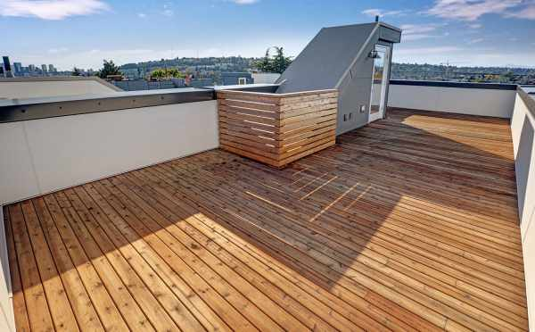 Roof Deck at 3539 Wallingford Ave N