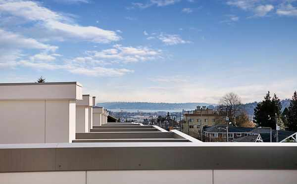 View from the Rooftop Deck of 7530B 15th Ave NW, Live-Work Unit in Talta Ballard