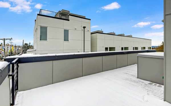 Rooftop Deck at One of the Avani Townhomes in Capitol Hill
