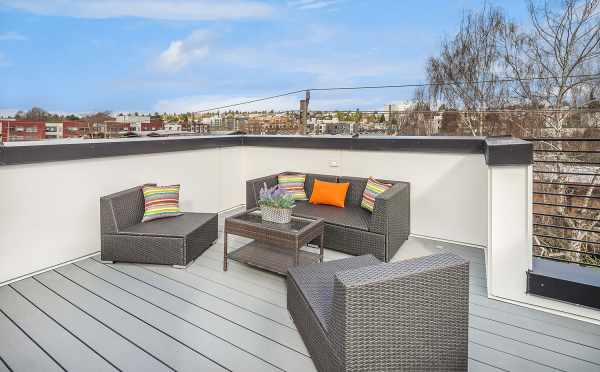 Roof Deck at 6539F 4th Ave NE
