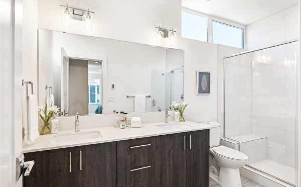 Owner's Suite Bathroom at 224 18th Ave