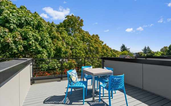 Roof Deck at 212E 18th Ave