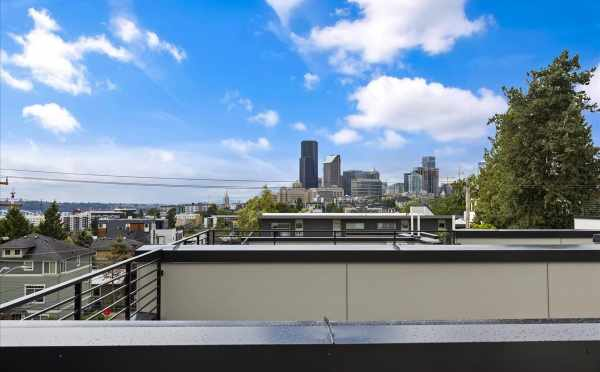 City Views from the Roof Deck of 1812 E Spruce St in the Cabochon Collection