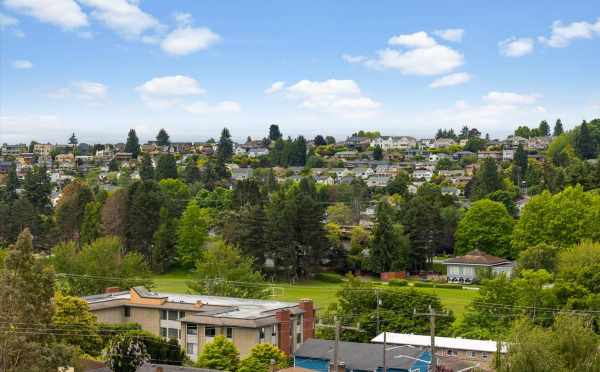 View from the Deck at 3015C 30th Ave W, One of the Lochlan Townhomes in Magnolia by Isola Homes