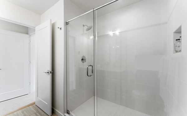 Shower in the Owner's Suite Bath at 6415 14th Ave NW