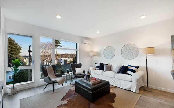 Twin II Duplex Living Room
