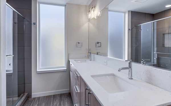 Master Bathroom in One of the Verde Towns 1 Homes