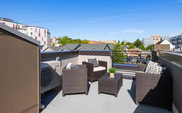 Roof Deck at 6309F 9th Ave NE in Zenith Towns East