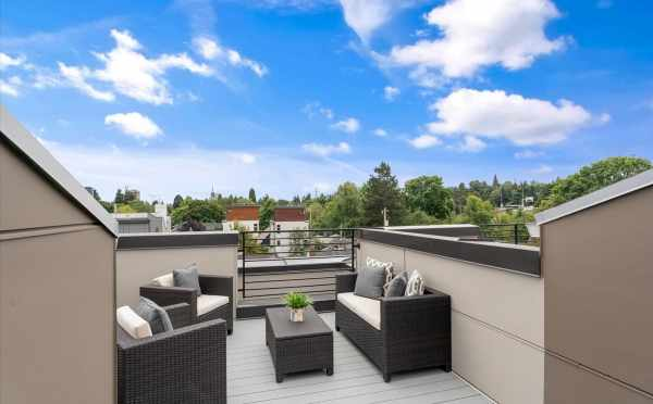 Rooftop Deck at 820 NE 63rd St