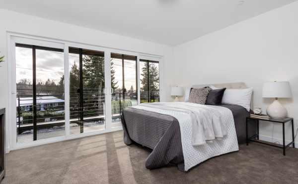 Master Bedroom at 11514B NE 87th St