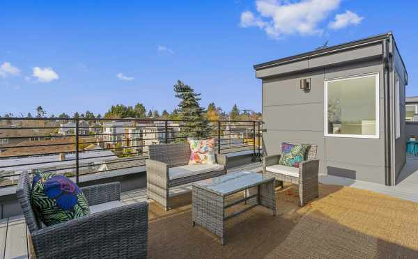 Rooftop Deck on at One of the Lifa West Townhomes