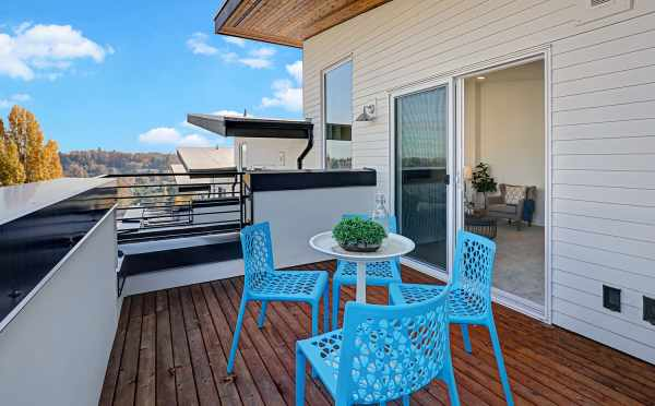Deck off the Fourth Floor at 3062F SW Avalon Way