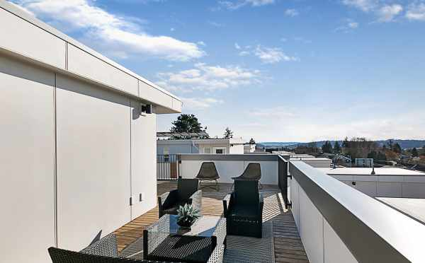 Rooftop Deck of 7528A 15th Ave NW, Townhome in Talta Ballard