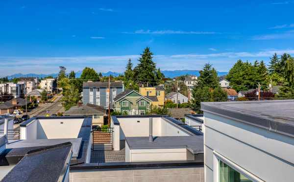 View from the Roof Deck at 8505 16th Ave NW