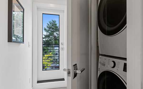 Stackable Washer and Dryer at 6415 14th Ave NW, One of the Oleana Townhomes