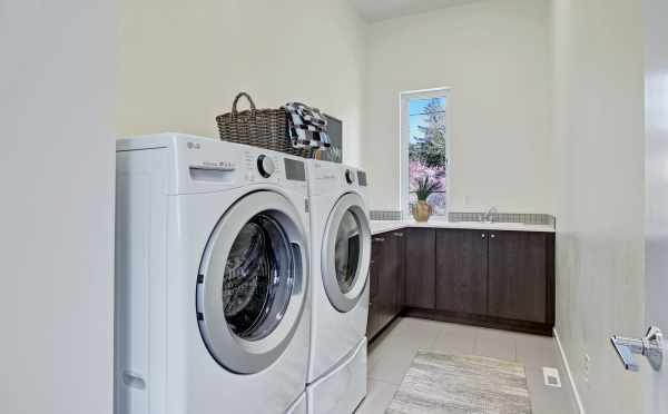 Laundry Room in One of the Homes in Sheffield Park