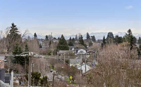 Mountain Views from the Roof Deck at 1492 NW 75th St