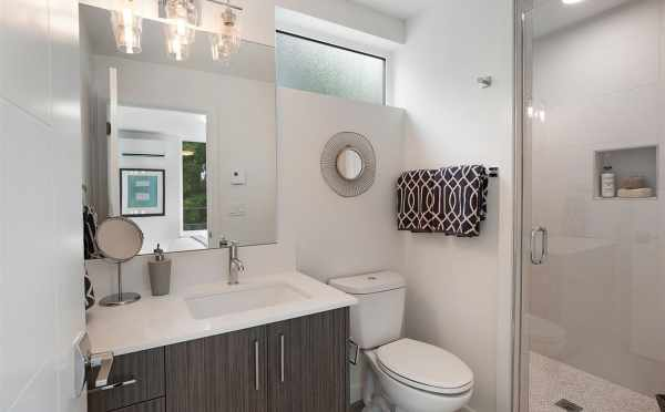 Owner's Suite Bathroom at 5111f Ravenna Ave NE