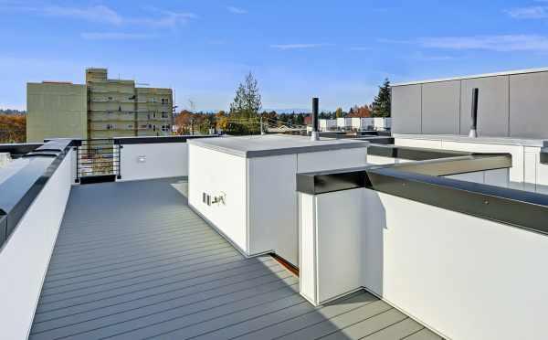 Roof Deck at 437B NE 73rd Street