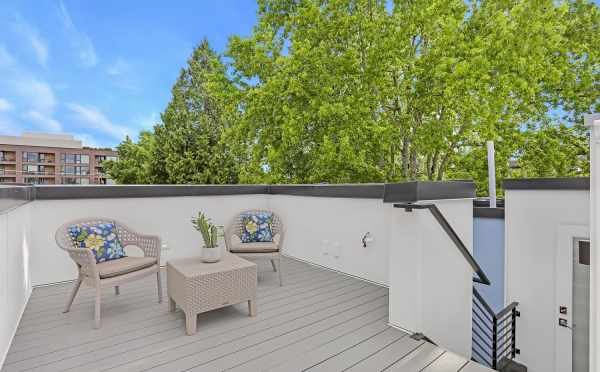 Roof Deck at 1724B 11th Ave