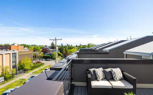 View from the Roof Deck at 6309F 9th Ave NE