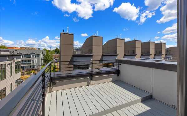 Roof Deck at 6313C 9th Ave NE