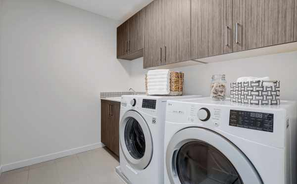 Laundry Room in a Piccadilly Point Home