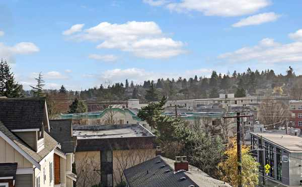 View from the Roof Deck at 500C NE 71st St, One of the Avery Townhomes