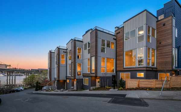 Exterior View of the Baymont Townhomes