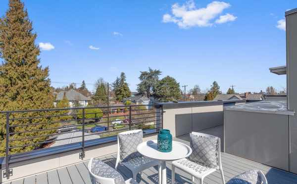 Rooftop Deck at 224 18th Ave in the Cabochon Collection by Isola Homes