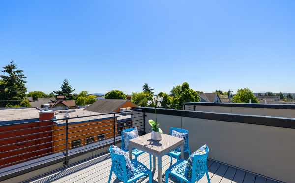Rooftop Deck at 212B 18th Ave