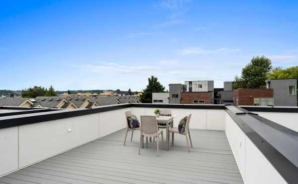 Roof Deck at 6415 14th Ave NW