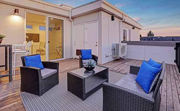 4th Floor Deck at 1494 NW 75th St