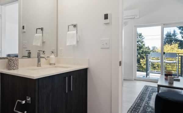 Bathroom Off the Fourth-Floor Bonus Room at 8569 Mary Ave NW