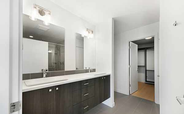 Master Bathroom Sinks at 2127 Dexter Ave N