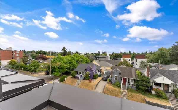 View Looking South from the Roof Deck of 820 NE 63rd St at Zenith Towns South