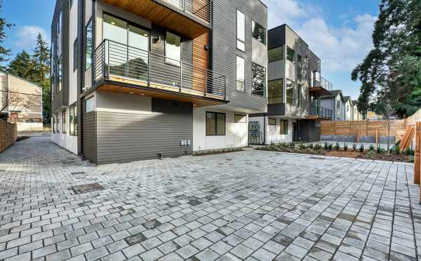 Parking Area at the Maya Townhomes