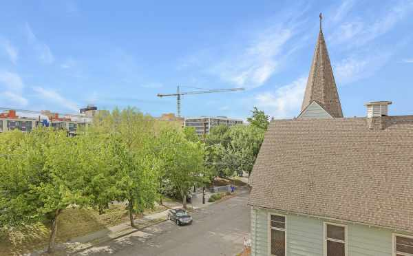 View from the Roof Deck at 1724B 11th Ave