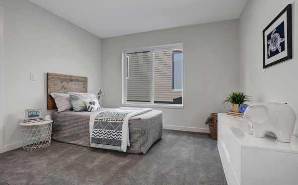 Fourth Bedroom at 11518B NE 87th Street