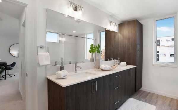 Vanity in the Owner's Suite Bath at 807 N 47th St