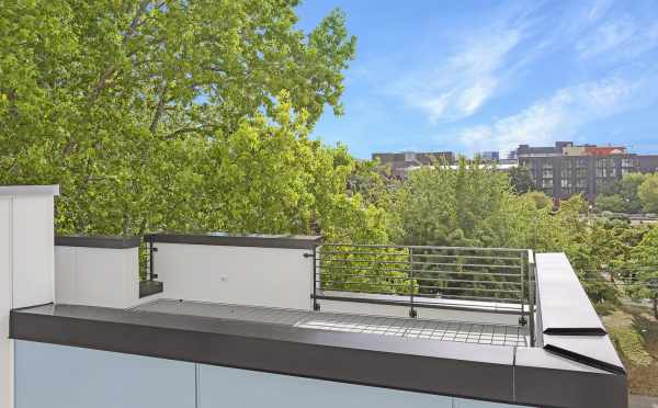 View from the Rooftop Deck at 1724B 11th Ave, One of the Wyn on 11th Townhomes