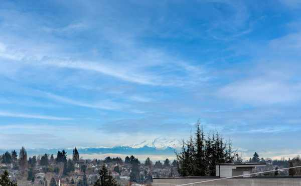 Mountain Views from the Roof Decks at 6 Central in Capitol Hill