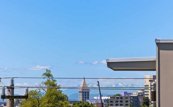 View of Smith Tower from the Roof Deck of 212B 18th Ave