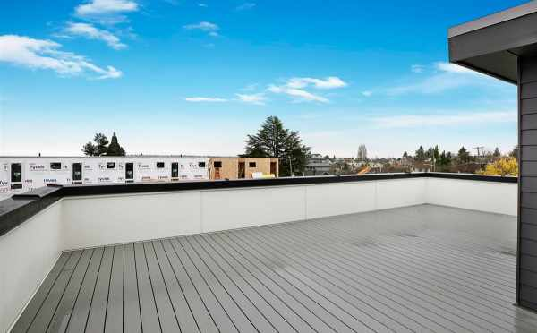 Rooftop Deck of the Single-Family Home of Sunstone at Fremont