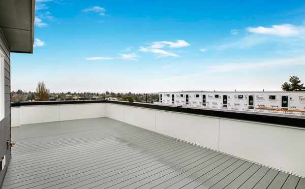 Deck on the Roof of 807 N 47th St