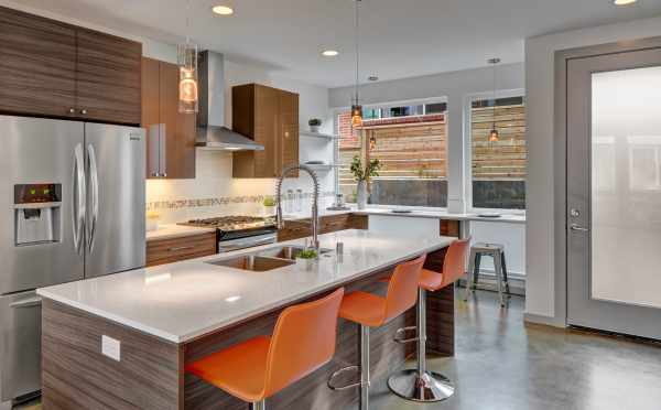 Morgan 5.2 by Isola Homes, Modern Townhomes, Modern, Modern Builder