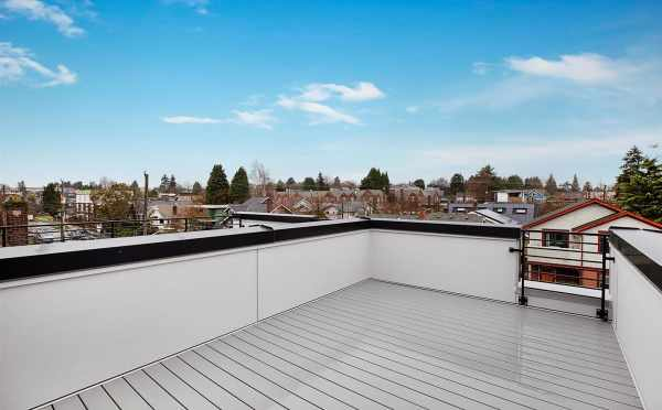 Roof Deck at 809B N 47th St of Sunstone at Fremont